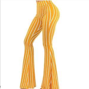70's BoHo Chic High Waist Wide Flare Pant Leggings
